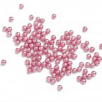 Tasty Me Parels Metallic Roze 2mm -75gr-