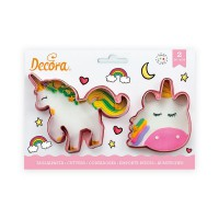Decora Cookie Cutter Set Magic Unicorns -2st-