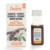 Decora Bourbon Madagascar Natural Vanilla Extract -20ml-