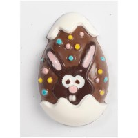 CK Chocolate & Candy Mold Bunny Egg