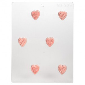 CK Chocolate & Candy Mold Sweet Hearts