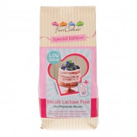 FunCakes Mix voor Biscuit Lactose Vrij - Low Sugar -500gr-