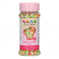 FunCakes Sugar Strands Sour -80gr-
