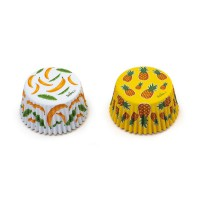 Decora Baking Cups Tropical -36st-