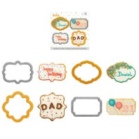 Decora Cookie Cutter Set Frames -4st-