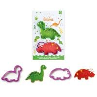 Decora Cookie Cutter Set Dino -2st-