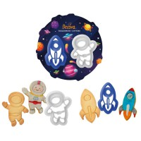 Decora Cookie Cutter Set Space -2st-