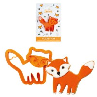 Decora Cookie Cutter Fox