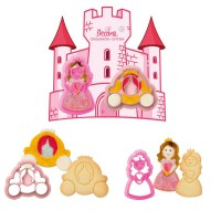 Decora Cookie Cutter Set Princess -2st-