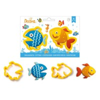 Decora Cookie Cutter Set Fishes -2st-