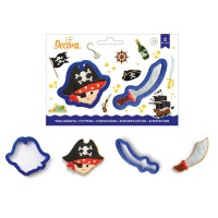 Decora Cookie Cutter Set Pirate & Sabre -2st-