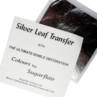 Sugarflair Silver Leaf Transfer