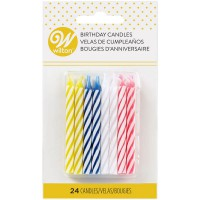 Wilton Candles Celebration Assorti -24st-