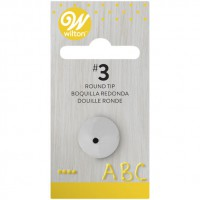 Wilton Decorating Tip 003 Round
