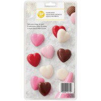 Wilton Chocolate & Candy Mold Hearts
