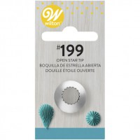 Wilton Decorating Tip 199 Open Star