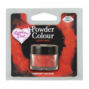 RD Powder Colour Poppy Red