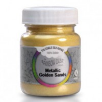RD Edible Silk Metallic Golden Sands -30gr-