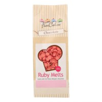 FunCakes Chocolade Melts Ruby -250gr-