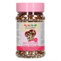 FunCakes Mini Chocolade Crispy Pearls Mix -175gr-