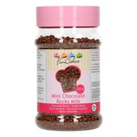 FunCakes Mini Chocolade Rocks Melk -225gr-