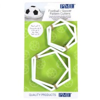 PME Football/Soccer Pattern Cutters Set -4st-