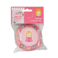 Baked With Love Foil Baking Cups Princess -24st-