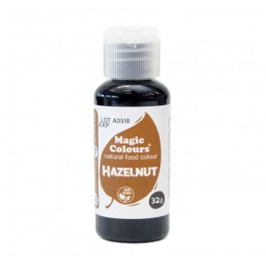 Magic Colours Natural Food Colour Hazelnut Brown -32gr-