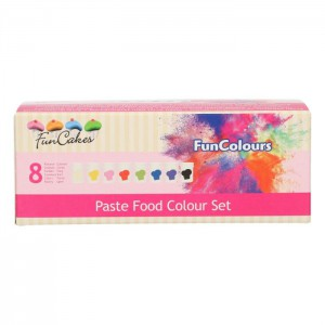 FunCakes FunColours Paste Food Colour Set -8st-