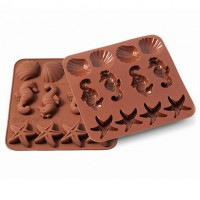 Silikomart Wonder Cakes Silicone Mould Sealife
