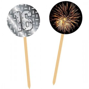 Cupcake Toppers Finally 16 -20st-