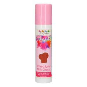 FunCakes FunColours Velvet Spray Milk Choco -100ml-