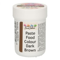 FunCakes FunColours Paste Food Colour Dark Brown -30gr-