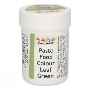 FunCakes FunColours Paste Food Colour Leaf Green -30gr-