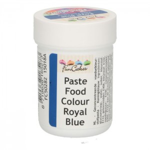 FunCakes FunColours Paste Food Colour Royal Blue -30gr-