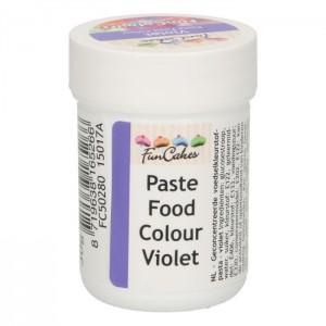 FunCakes FunColours Paste Food Colour Violet -30gr-
