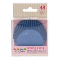FunCakes Baking Cups Royal Blue -48st-