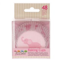 FunCakes Baking Cups Baby Girl -48st-