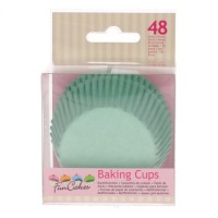 FunCakes Baking Cups Mint Green -48st-