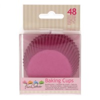 FunCakes Baking Cups Pink -48st-