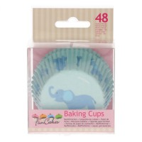 FunCakes Baking Cups Baby Blue -48st-