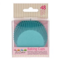 FunCakes Baking Cups Turquoise -48st-