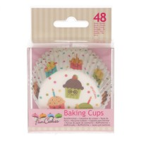 FunCakes Baking Cups Cupcake Party -48st-