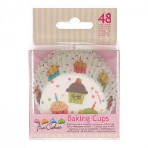 FunCakes Baking Cups Cupcake Feest -48st- //