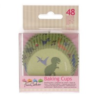 FunCakes Baking Cups Dino -48st-