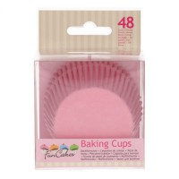 FunCakes Baking Cups Light Pink -48st-