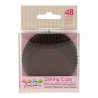 FunCakes Baking Cups Brown -48st-