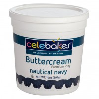 Celebakes Botercreme Icing Nautical Navy -397gr-