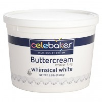 CK Celebakes Buttercream Icing Whimsical White -1,59kg-