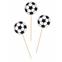 Cupcake Toppers Voetbal -20st-